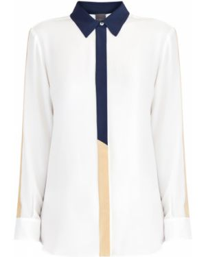 Шелковая блузка - белая Lorena Antoniazzi