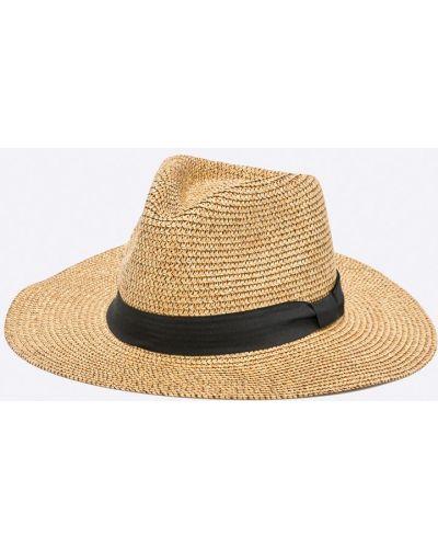 Коричневая шапка Only