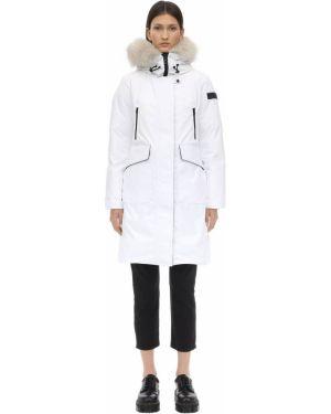 Куртка с капюшоном нейлоновая на молнии Peuterey