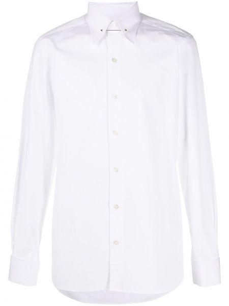 Koszula z długim rękawem prosto wyposażone Tom Ford