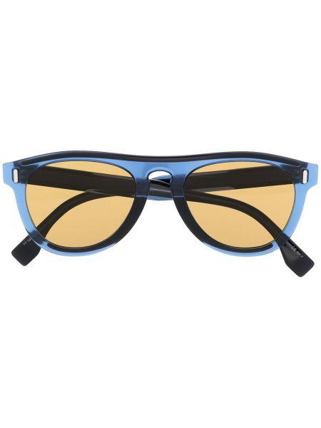 Niebieskie okulary Fendi Eyewear