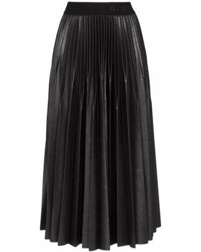 Czarna spódnica midi Givenchy