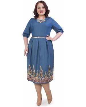 Летнее платье на пуговицах платье-сарафан Wisell
