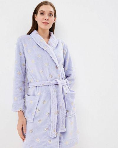 Фиолетовый халат домашний Women'secret