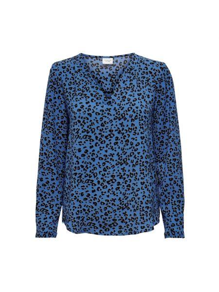 Niebieska t-shirt Jacqueline De Yong