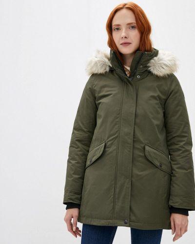 Утепленная зеленая куртка Tommy Hilfiger