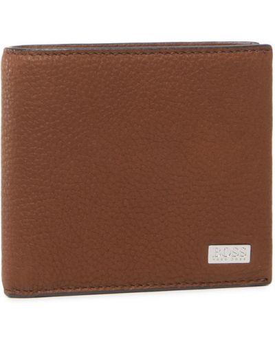 Brązowy portfel Boss