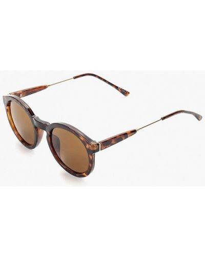 Солнцезащитные очки круглые коричневый Burton Menswear London