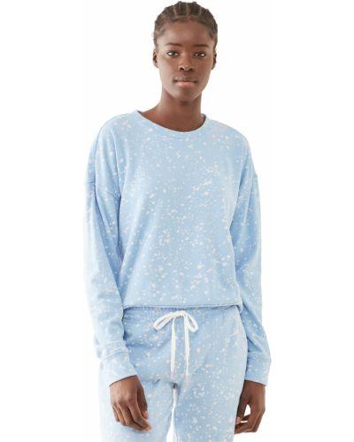 Ватный синий хлопковый пуловер Pj Salvage