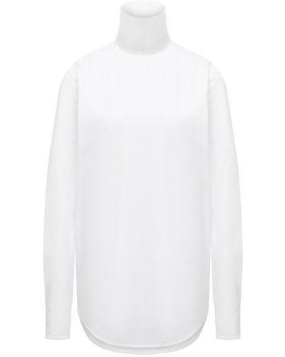 Белый хлопковый топ Dries Van Noten