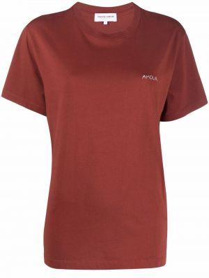 Хлопковая футболка Maison Labiche