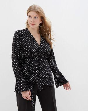 Блузка - черная авантюра Plus Size Fashion