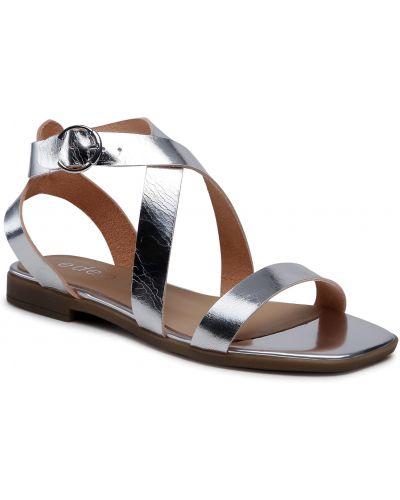 Sandały srebrne Edeo