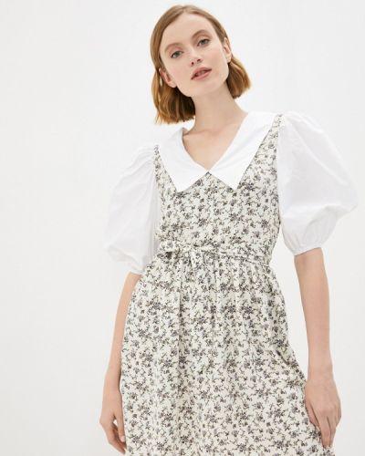 Бежевое платье Hey Look