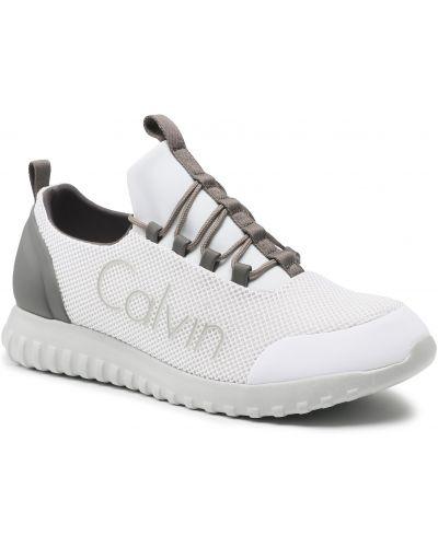Białe półbuty casual Calvin Klein Jeans