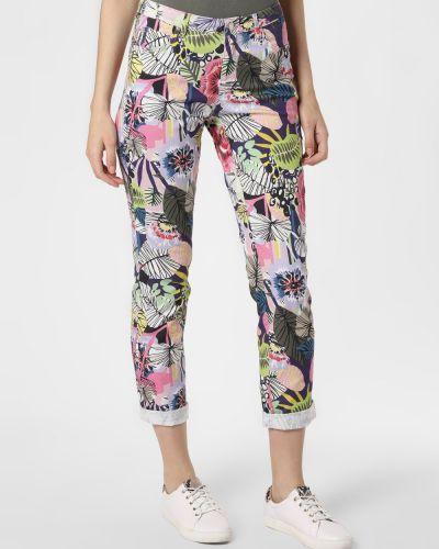 Różowe spodnie Rosner