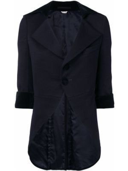 Синяя куртка с манжетами Comme Des Garçons Pre-owned