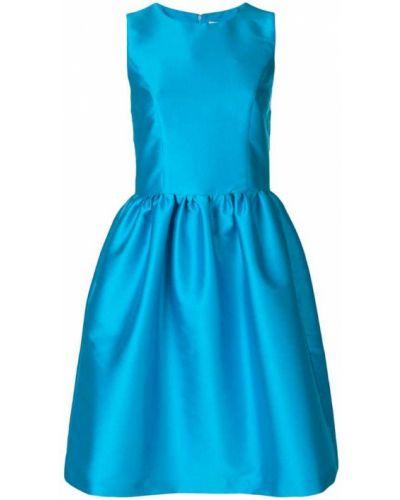 Платье расклешенное синее Ultràchic