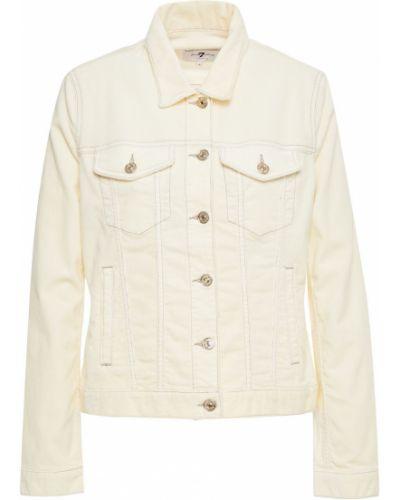 Ватная куртка вельветовая с карманами 7 For All Mankind