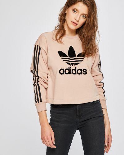 Розовая кофта с капюшоном Adidas Originals