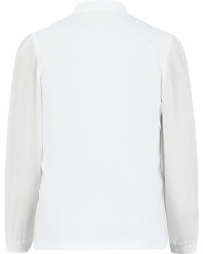 Блуза бежевая белый слон