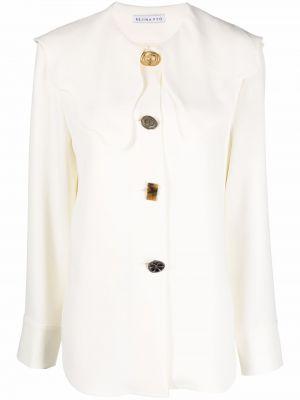 Длинная рубашка - белая Rejina Pyo