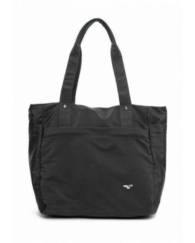 Черная сумка шоппер Vita