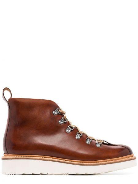 Кожаные ботинки - коричневые Grenson