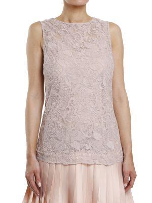 Платье из полиэстера - бежевое Plein Sud