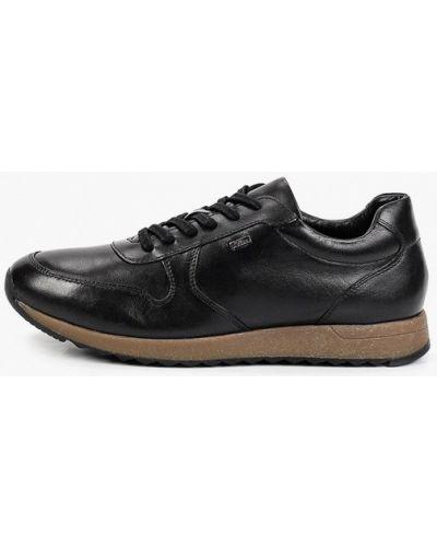 Черные зимние кроссовки S.oliver