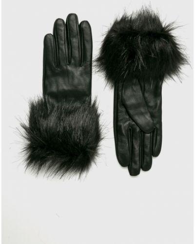 Кожаные перчатки акриловые Pieces