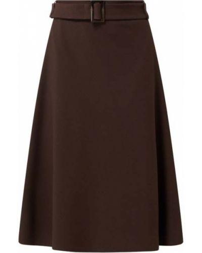 Spódnica rozkloszowana - brązowa Jake*s Collection