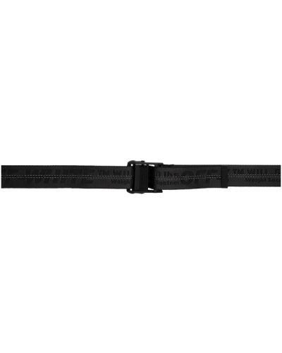 Нейлоновый классический черный ремень с поясом Off-white