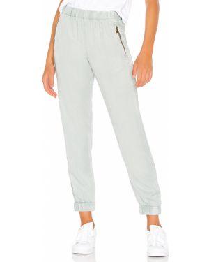 Niebieskie spodnie peep toe Yfb Clothing
