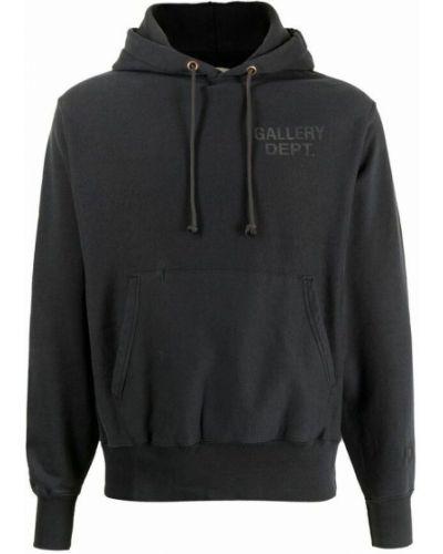 Czarna bluza dresowa Gallery Dept.