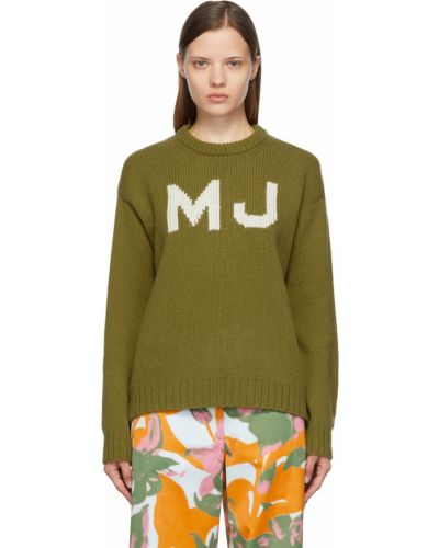 Шерстяной свитер - белый Marc Jacobs