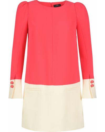 Платье весеннее розовое Elisabetta Franchi