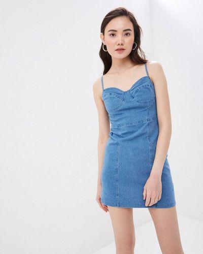 Джинсовое платье синее Befree