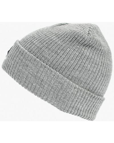 Серая шапка осенняя Befree