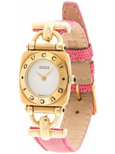 Zegarek kwarcowy pozłacany plac Gucci Pre-owned
