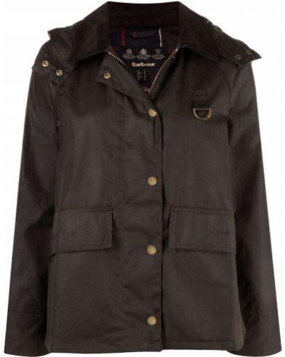Куртка с капюшоном - зеленая Barbour