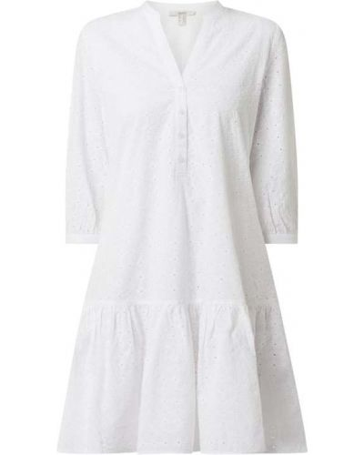 Sukienka rozkloszowana - biała Esprit