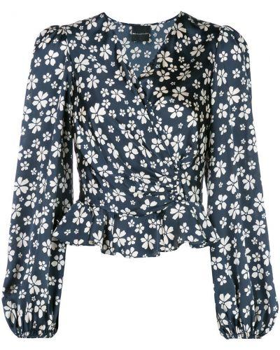 Блузка с длинным рукавом в полоску с запахом Jill Jill Stuart