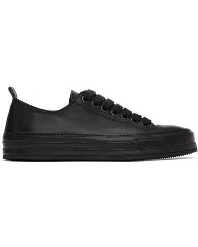 Sneakersy sznurowane zamszowe Ann Demeulemeester