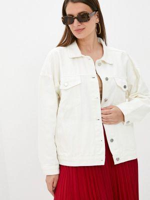 Белая джинсовая куртка Chic De Femme