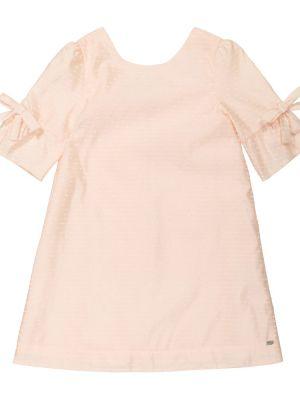 Акриловое розовое платье с вышивкой Tartine Et Chocolat