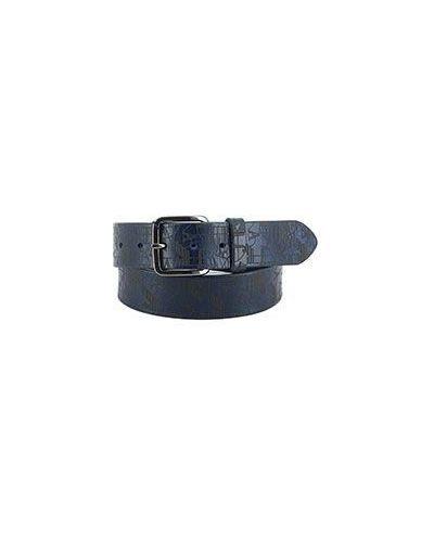 Синий ремень Armani Jeans