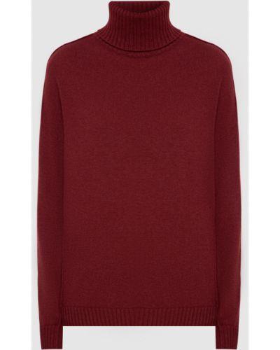 Красный кашемировый свитер Allude