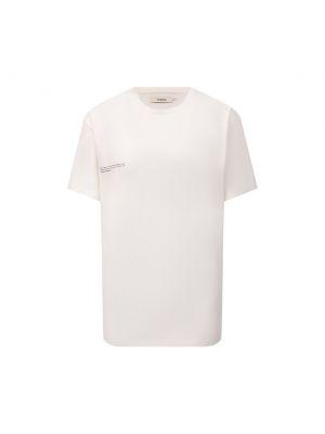 Хлопковая футболка - белая Pangaia
