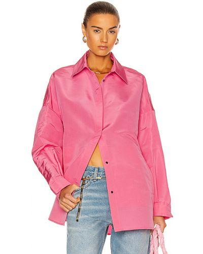 Домашняя розовая блузка с карманами Valentino Garavani